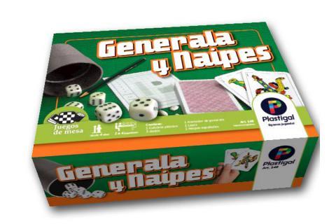 Generala y Naipes